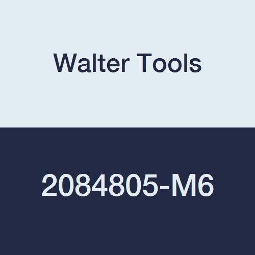 Walter Tools 2084805-M6 AMB HSS Automatic Nut Tap TIN Finish 46 mm Shank Diameter 1 mm Thread Length 24 mm Cutting Length 271 mm Overall Length M6 Cutting Diameter