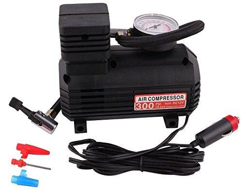 12V 300PSI Portable Cigarette Lighter Electric Air Compressor Tire Inflator Pump