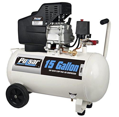 Pulsar PCE6150 Horizontal Electrical Air Compressor 15-Gallon