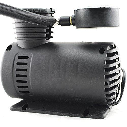 Zorvo NEW Portable Mini Electric Air Compressor for car Tire Inflator Pump 12 Volt 300 PSI
