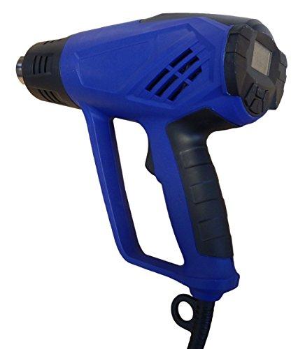 Simplistex TM - 1500 Watt DIGITAL Heat Gun - 4 Nozzles - 6 Fan Speeds - Adjustable temperature from 122°F to 932°F - 1 Year Warranty