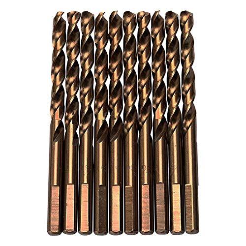 Genuine Product Drill M35 10pcs 14 Inch Shank Triangle Shank Cobalt Twist Drill Bits Drill Accessories