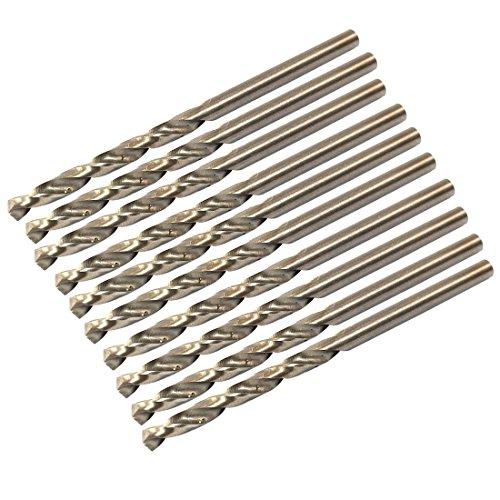 uxcell 33mm Dia 35mm Flute High Speed Steel Cobalt Twist Drill Bit 10pcs
