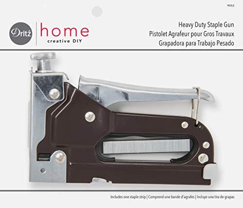 Dritz Home 9052 Heavy Duty Staple Gun 716-Inch with 100 Staples