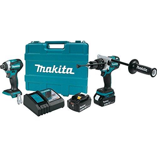 Makita XT268T 50Ah 18V LXT Lithium-Ion Brushless Cordless Combo Kit 2 Piece