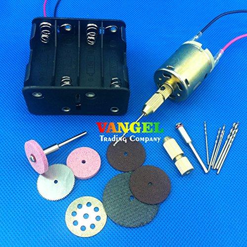 VANGEL--12v~24v 7000~12000rpm Mini Drill Pcb Drill Hand Drill Press Nail Saws Burnishing Electric Drill Bits Cutting Grinding