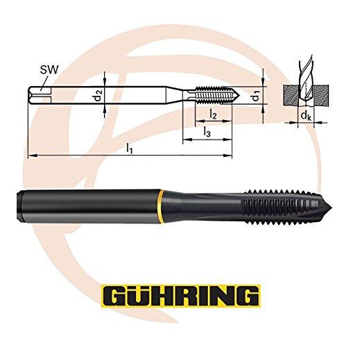 Guhring Powertap 3-56 Spiral Point tap HSS-E Cobalt Oxide