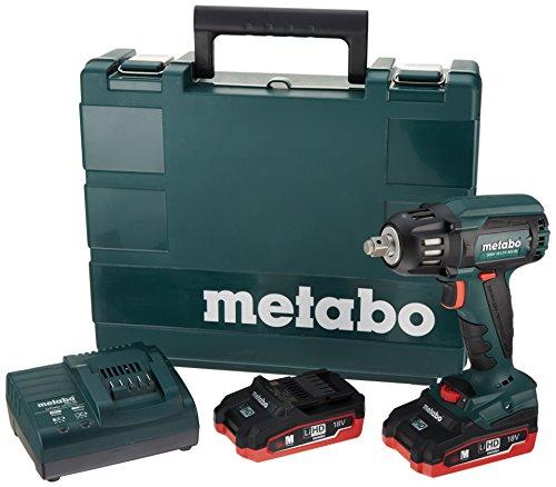 Metabo 18V Brushless 12 SqImpact Wrench 31Ah Kit