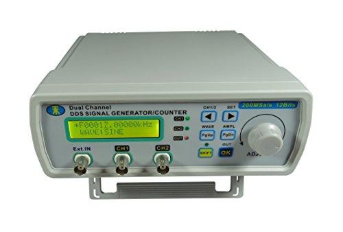 Digital DDS Dual-channel Signal Source Generator Arbitrary Waveform Frequency Meter 25M Hz 200MSas