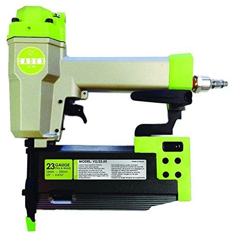 Cadex V22355 23 Gauge Pinner  Brad Pin Nailer 12 - 2-316 Kit with 8000 Pins Brads