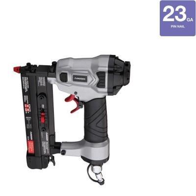 Husky DPP123 Pneumatic 23-Gauge 1 in Headless Pin Nailer