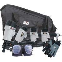 WoodsIronHorseProducts 4Pc Nailgun Kit WTool Bag&Acc Sold as 1 Each