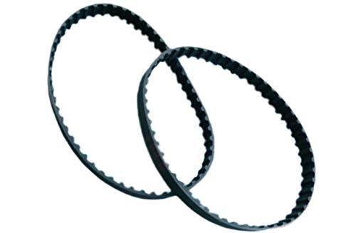 2 Pack Timing Belts Fit Skil Belt Disc Sander 3375-01 Drive Belt