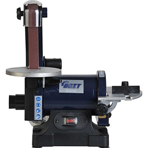 Doitpower 1 x 30 Belt Sander and Disc Sanders Benchtop 17 ms Belt Speed 13HP Motor Blue