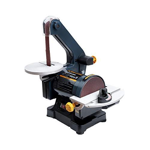 POWERTEC BD1502 Belt Disc Sander for Woodworking  1 in x 30 in Belt Sander with 5 in Sanding Disc