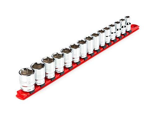 TEKTON 12 Inch Drive 6-Point Socket Set 15-Piece 10 - 24 mm  SHD92102