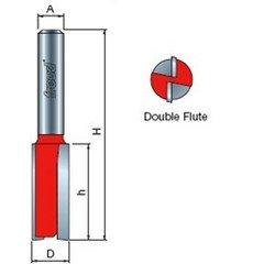 Freud 04-516 10mm Diameter X 34 Double Flute Straight Router Bit 14 Shank