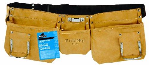 Task Tools 11372 Tuf-E-Nuf Carpenters Apron with Nylon Belt 3-Pocket