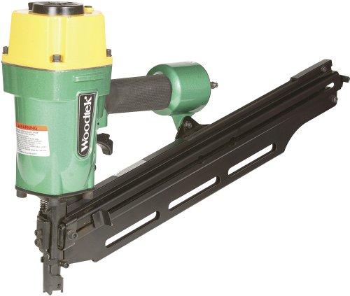 Woodtek 124427 Portable Power Tools Air Nailers 6d-16d Framing Nailer 22 Degree