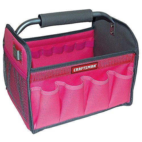 Craftsman 12 in Tool Totes - Pink