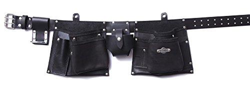 Buckaroo Leather Apron Style Carpenters Belt Nail Bag
