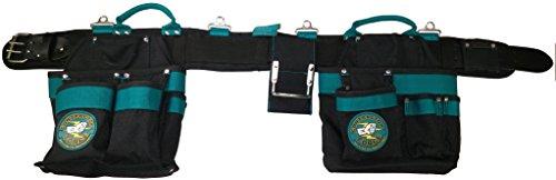 Carpenters 16 Pocket Tool Belt Padded Comfort Belt Medium 30-34 Inch Waist