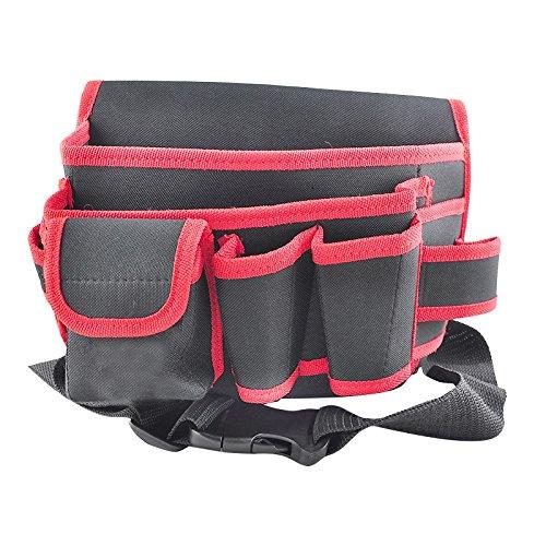 DenshineProfessional Electrician Technician waterproof Tool Bag Work Tool Storage Pouch Belt Holder Pocket