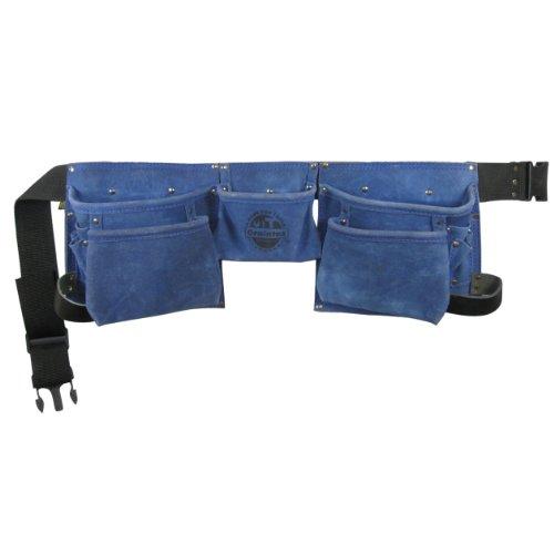 Graintex DS1134 8-Pocket Blue Tool Belt for Women