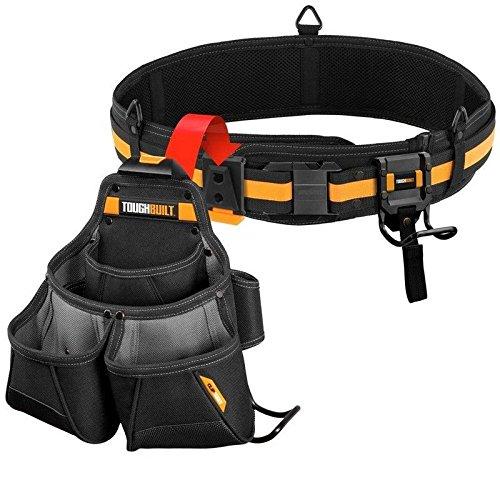 Farook-Framer Tool Belt Set Black 3-Piece NEW