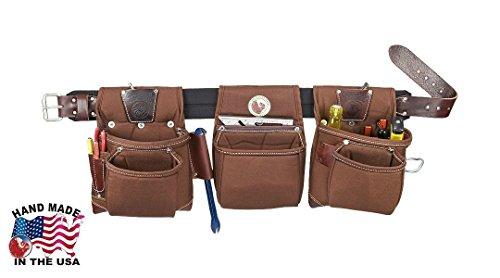 Occidental Leather 8385l Large Black Belt Rough Framer Tool Belt Set