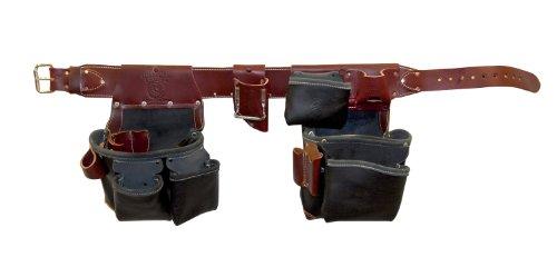 Occidental Leather B5625LH XXXL Green Building Framer Tool Belt Set Black XXX-Large Left Handed