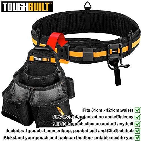 TOUGHBUILT TOU-CT-102-3 Pro Framer Tool Belt Set 3-Piece by ToughBuilt
