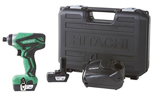 Hitachi WH10DFL2 12-Volt Peak Cordless Lithium Ion Impact Driver Kit Lifetime Tool Warranty