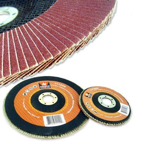 20 New 45 60 Grit Flat Flap Disc Neiko Aluminum Oxide Grinding Sanding Wheels