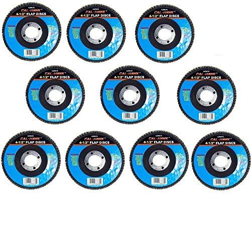 Cal-Hawk 20 Pack 4-12 Auto Body Sanding Flap Discs 60 Grit
