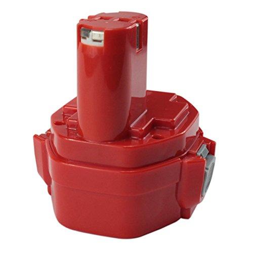 GERIT--144V 3000mAh Replacement Battery for Makita 1420 1422 1400 PA14 192600-1 194172-2 193062-6 193987-4 638350-9-2 193985-8 Cordless Drill Power Tool