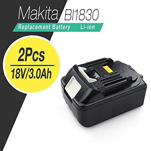 FlylinktechMakita BL1830 18v Lithium ion battery for maktia 18v cordless power tools drills