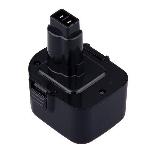 Generic 12V2000mAh Ni-Cd Replacement Cordless Power Tool Drill Battery for DW924K2BRDW924K-B2DW924K-B3DW927K2DW927K-2DW927KV-2DW930DW930KDW940KDW940K-2DW953DW953KDW953K-2DW953KF-2Compatible Part NumbersDEWALT DE9075 DW9071 DW9072
