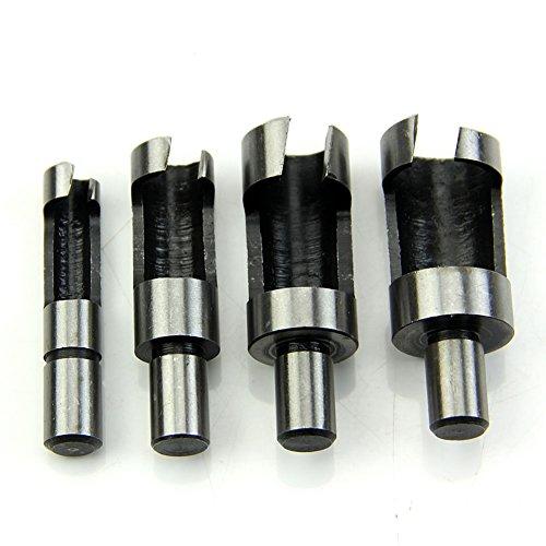 YSTD4× Wood Plug Cutter Cutting Woodwork Power Tool Drill Bit Set 6mm 10mm 13mm 16mm 01
