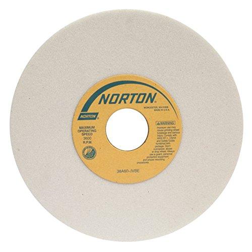 Norton 32A46-HVBE Type 01 Vitrified Straight Toolroom Grinding Wheel Aluminum Oxide 8 Diameter x 12 Width 1-14 Arbor 46 Grit Grade H Purple Pack of 1