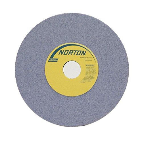 Norton 32A60-KVBE Type 01 Vitrified Straight Toolroom Grinding Wheel Aluminum Oxide 8 Diameter x 12 Width 1-14 Arbor 60 Grit Grade K Purple Pack of 1