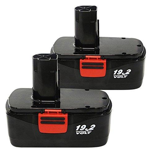 Enegitech 192V C3 Replacement Battery for Craftsman 30Ah DieHard Battery Pack C3 315115410 31511485 2 Pack