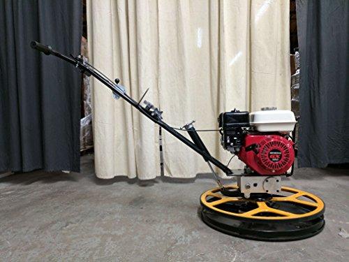 Hoc HS60 Power Trowel Edger 24  Honda GX160  Float Blades  Float Pan  1 Year Warranty