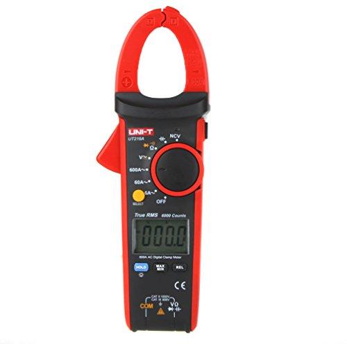 UNI-T UT216A True RMS Digital Clamp Meters Auto Range w NCV Capacitance ACDC Voltage AC Current Ohm Test