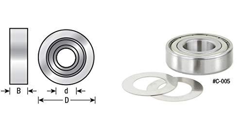 Amana Tool - C-020 Ball Bearing Rub Collar 2874 OD x 12 Height For 1-14 Spindle