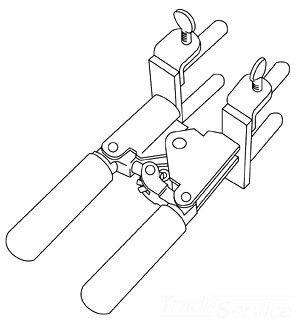 Erico Cadweld L160 Mold Handle Clamp