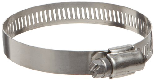 Ideal 67-1 Series Stainless Steel 201301 Worm Gear Hose Clamp 2 Clamp ID 3 Clamp OD 12 Band Width Pack Of 10