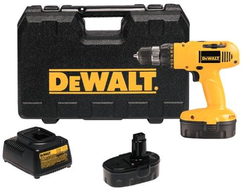 DEWALT DW958K-2  180 Volt 38 Cordless Compact DrillDriver Kit 2 Batteries