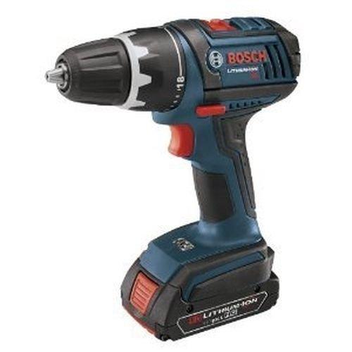 New Bosch Dds18102-5 18 Volt Cordless Compact Drill Driver Tool Kit 2 Bat Case