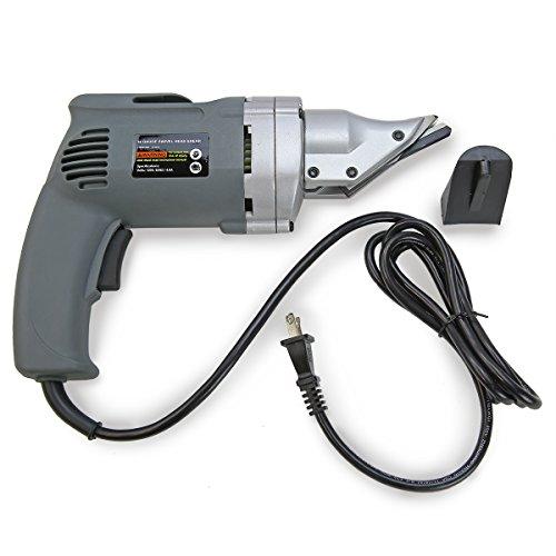XtremepowerUS Electric Head Metal Cutting Shear 18 14 Gauge Steel Cutter Snip Power Tool